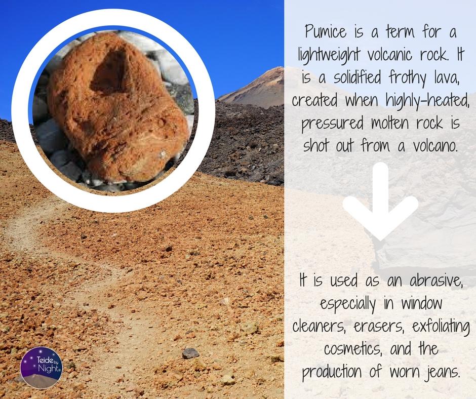 Pumice volcano Teide