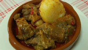 Canarian Goat Meat Recipes Teide by night