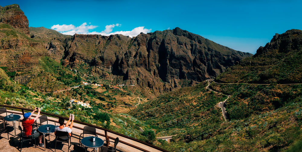 Masca Valley in Tenerife