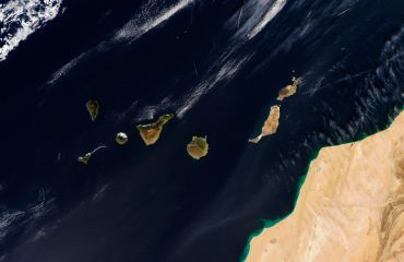 The Canary Islands from space