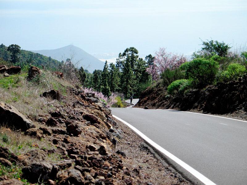 Volcanic landscape Tenerife
