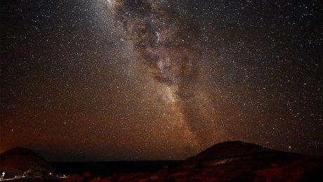 sky from el teide national park