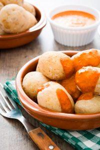 Potatoes with mojo