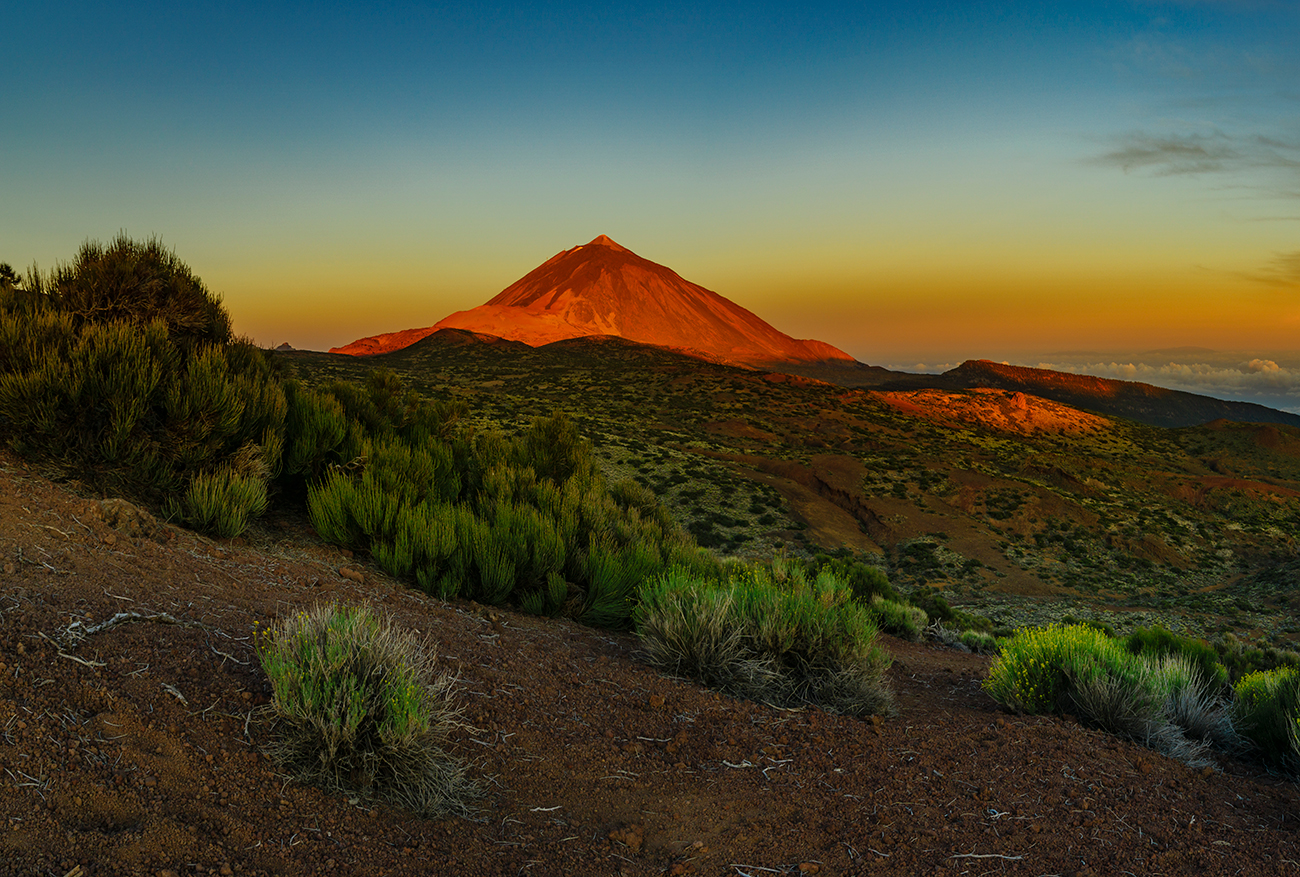 The Volocanic Origins Of Tenerife And Mount Teide